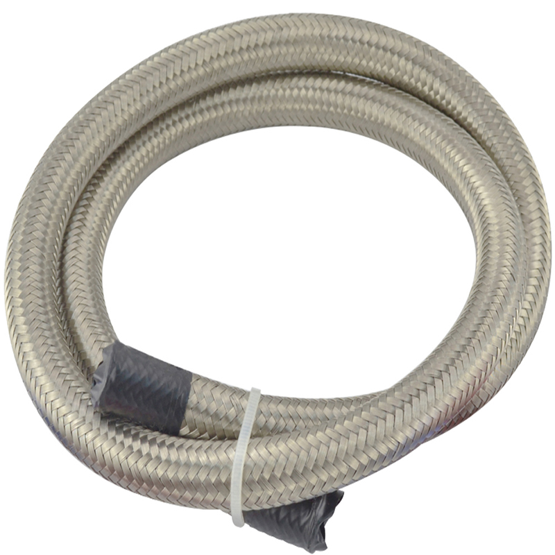 4 AN 4 Universal fuel hose / Oil hose / fitting hose Pipe Kit Stainless Steel Braided hose fuel 1500 PSI fuel supply treatment(China (Mainland))