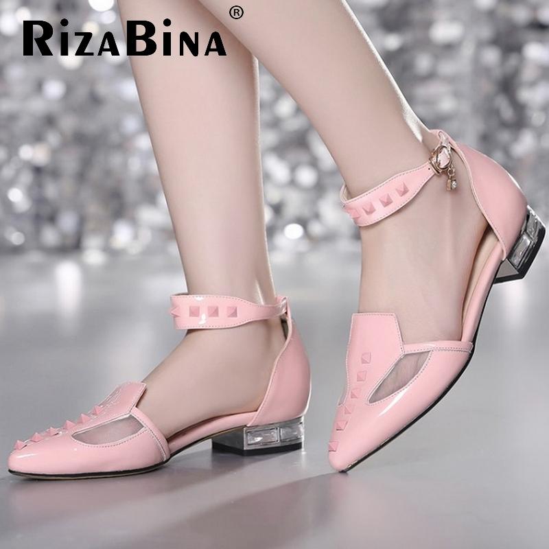 women flat sandals ankle strap sexy ladies fashion girl sweet brand heeled footwear heel zapatillas mujer size 34-39 P17703<br><br>Aliexpress