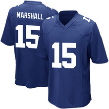 cheap hot sale Men's New #15 Brandon Marshall jersey 100% Stitched Embroidery Logos Royal Game Jerseys fast Free Shipping(China (Mainland))
