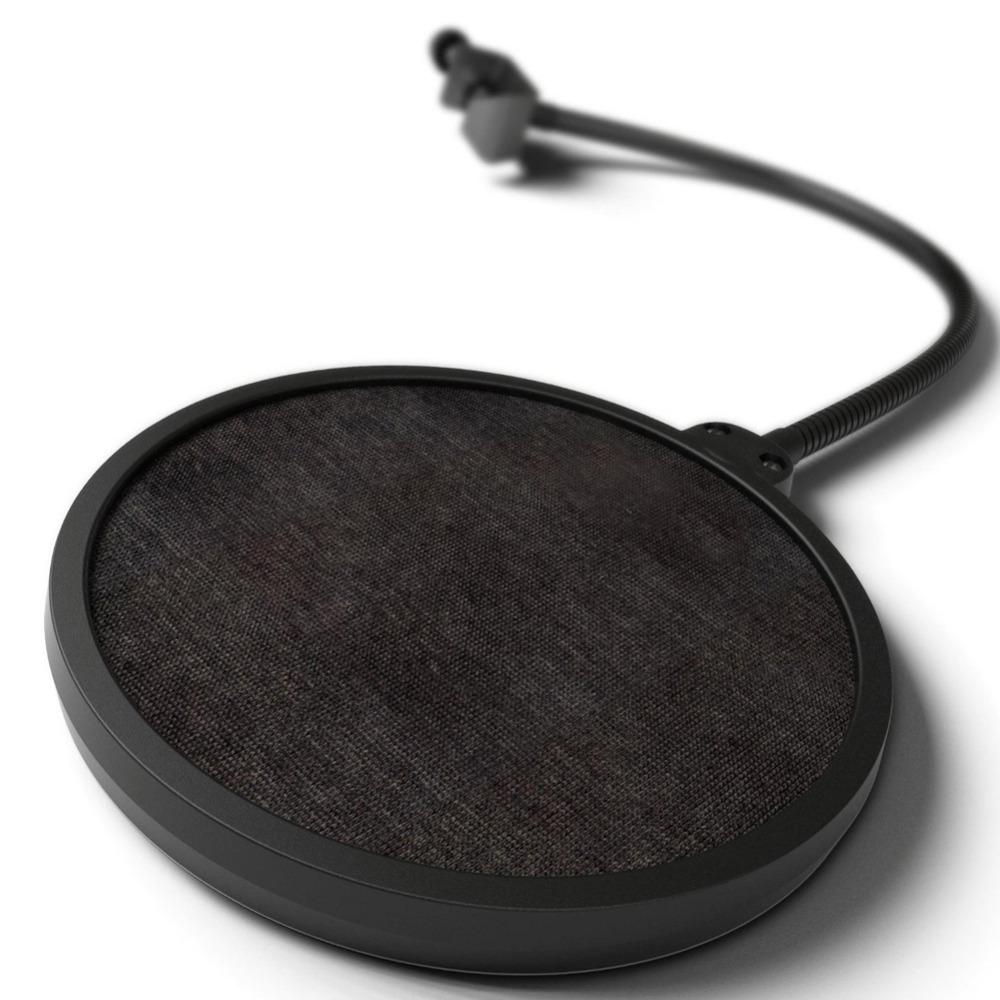Studio Singing Recording Microphone Mic Wind Screen Pop Filter/ Swivel Mount / Mask Shied For Gooseneck Holder<br><br>Aliexpress