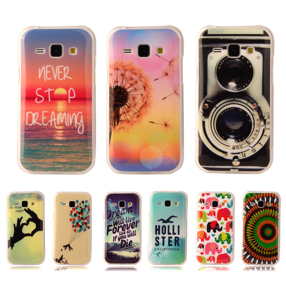 """Fashion Popular Soft TPU Silicone Case Soft Plastic Cover For Samsung Galaxy J7 J700 J700F 5.5"""" With Flower Tiger Phone Cases(China (Mainland))"""