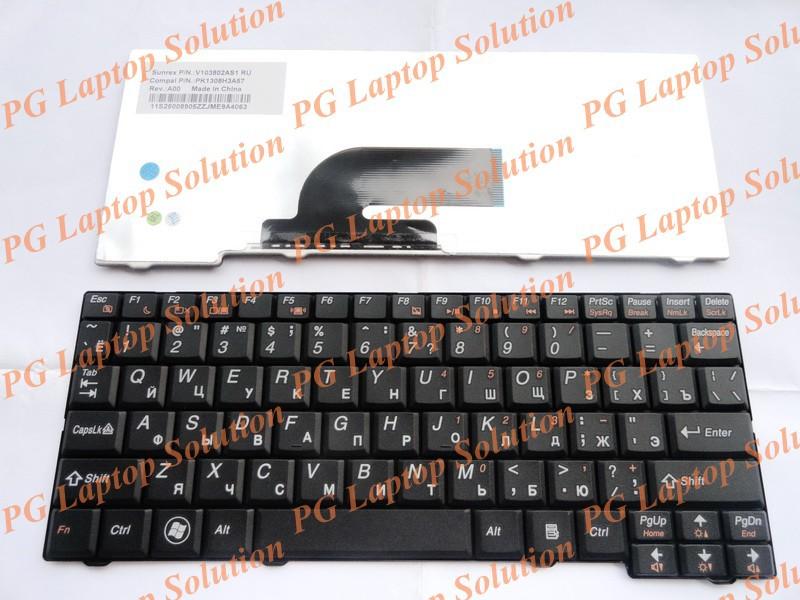 Original Russian Keyboard for IBM Lenovo IdeaPad S11 S10 2 S10 2C S10 3C RU Black