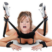 Shackle shackle fun sex toys adult toys bondage straps collars bed