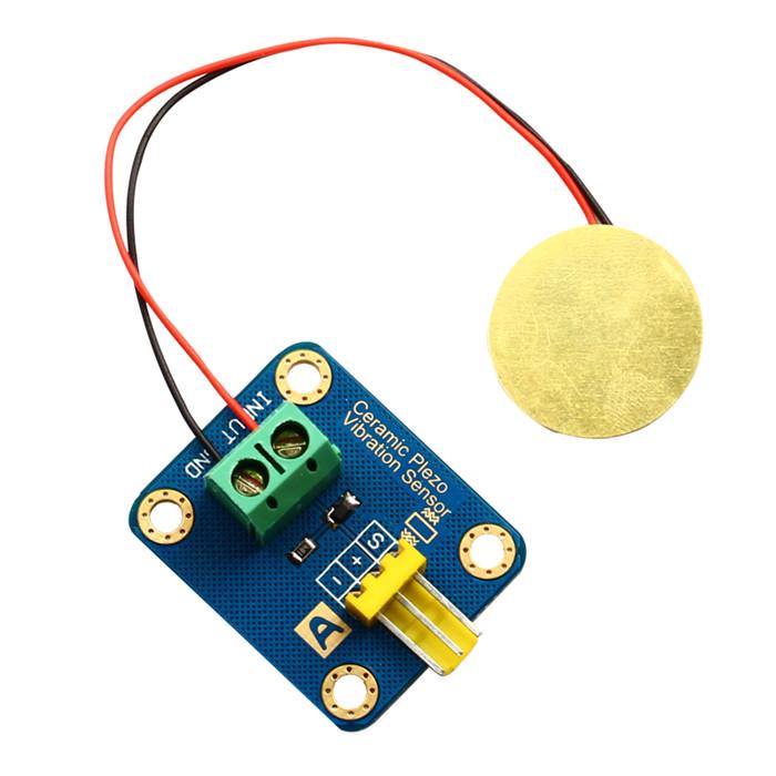 Piezo Vibration Sensor Hookup Guide