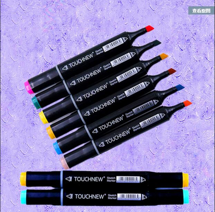 genuine mark pen / Touch new / 6-generation / Oil Pens Kit / student painted / 36/48/72/168 color/10701 /(China (Mainland))