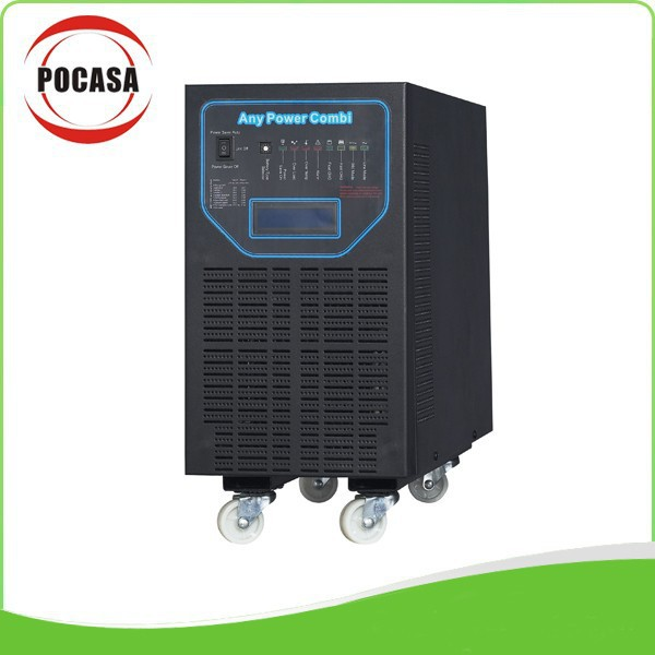 2015 Free Shipping 5KW Inverter Supply Be Charged With MPPT PV Solar Panels, Utility And Generator(China (Mainland))