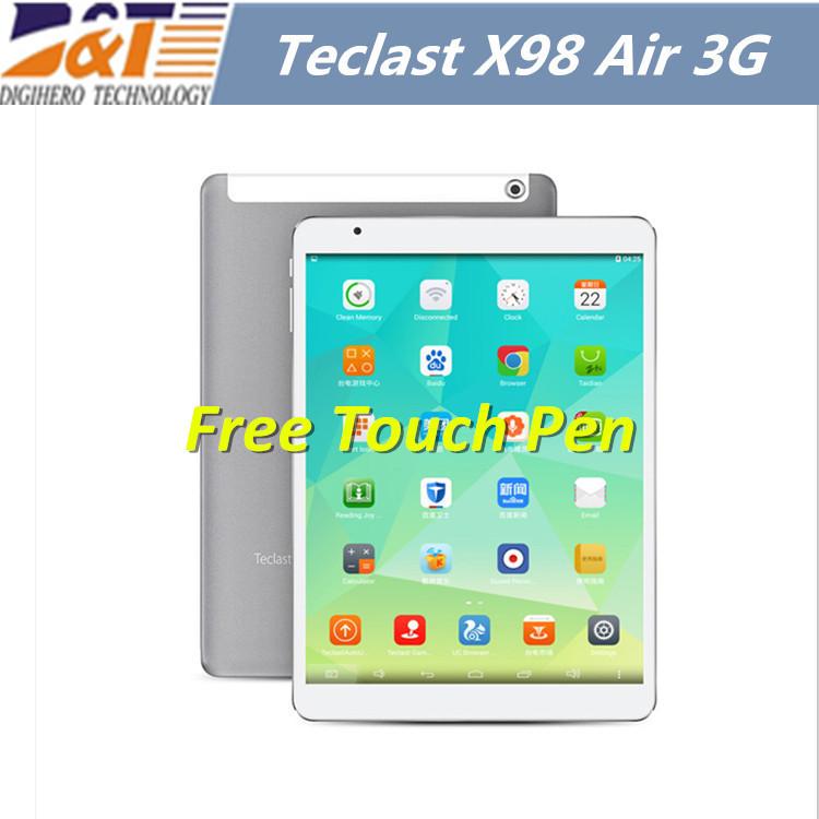 "9.7"" Teclast X98 Air 3G Dual Boot Bay Trail-T Quad Core 2.16GHz Tablet PC Retina Screen 2GB RAM 32/64GB GPS Tablet Pc(China (Mainland))"
