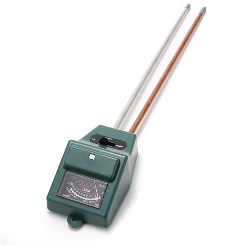 High Quality PH Tester Soil Water Moisture Light Test Meter sensor for Garden Plant Flower New Arrival(China (Mainland))