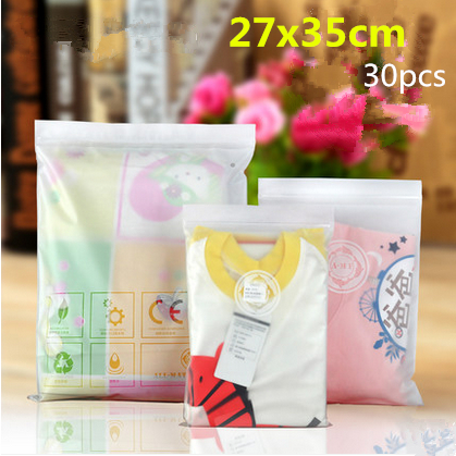 27x35cm 50pcs New material CPE zipper translucent plastic pack bags/ Soft plastic packaging underwear,scarf,slippers etc pouchs(China (Mainland))