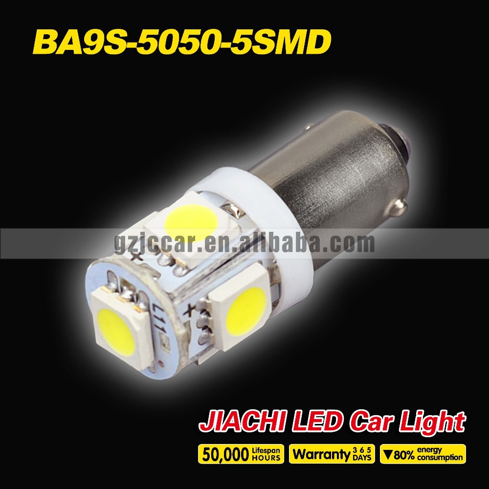 Led Car Lighting Interior Lights, 12V 5050 5SMD BA9S canbus led bulb auto accessories manufacturer(China (Mainland))