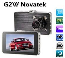 "G2W 170 Degree 2.8 ""LCD Full HD 1920x1080/30fps Car DVR w/ GPS TrackerG-sensor 5MP 1080P Vehicle Camcorder HDMI USB AV Out(China (Mainland))"