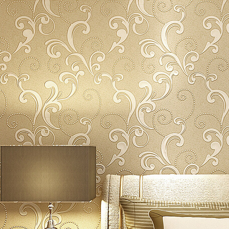 Buy beige brown yellow green cream modern for Modern 3d wallpaper texture