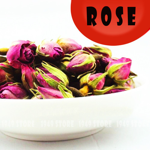 Rose Tea French Herbal Tea Organic Imperial Dried Rose Buds High Quality 50g(China (Mainland))