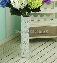 2 Colors Flower Pots tabletop vase Wooden Decorative Vase Beautiful vasos decorativos Design Wedding Home Decoration(China (Mainland))
