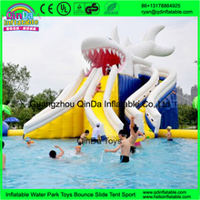 Commercial adult inflatable water slide for swimming pool big water slides for sale(China (Mainland))