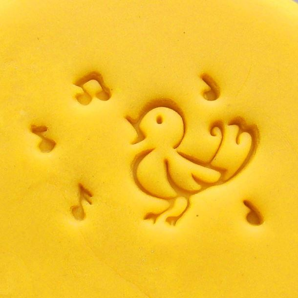 singing lovely bird pattern Handmade soap seal stamp mold chapter mini DIY beatiful patterns resin chapter molds 4*3cm(China (Mainland))