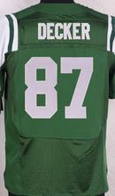 2016 NEW MEN 'S Cheap 5 Brandon Marshall 22 Matt Forte 24 Darrelle Revis 87 Eric Decker white green 100% Stitiched jersey(China (Mainland))