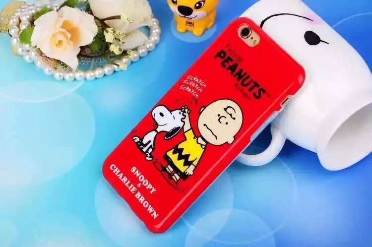 50pcs / lot Hot !2015 New Cartoon Snoopie Soft Silicone case For iPhone 6 4.7 inch '6 plus 'Phone Case TPU Protective Cover(China (Mainland))