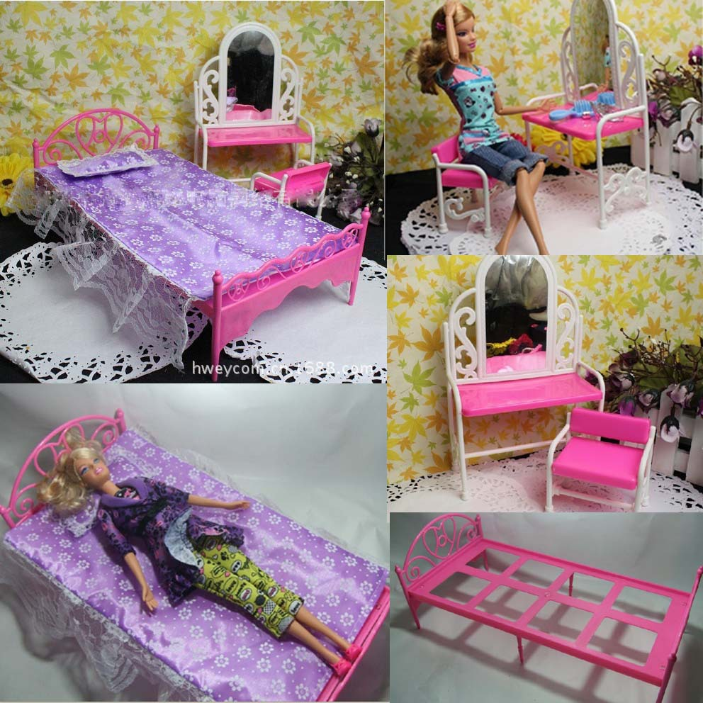 New Arrival discount  5 items (dressing table + bed+ pillow +