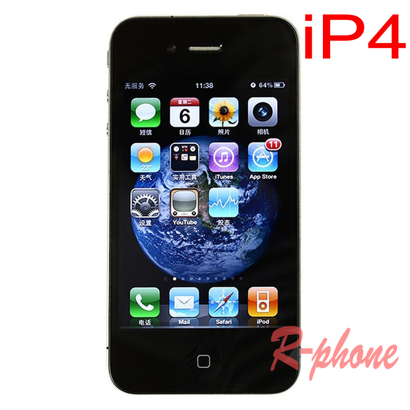 Original APPLE iPhone 4 4G Mobile Phone 8GB 16GB 32GB Unlocked Cellphone Used(China (Mainland))