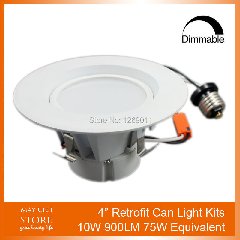 LED Can Light Retrofit for 4 Fixtures 10W 900LM LED Can Light Conversion Kit 2 Years Warranty<br><br>Aliexpress