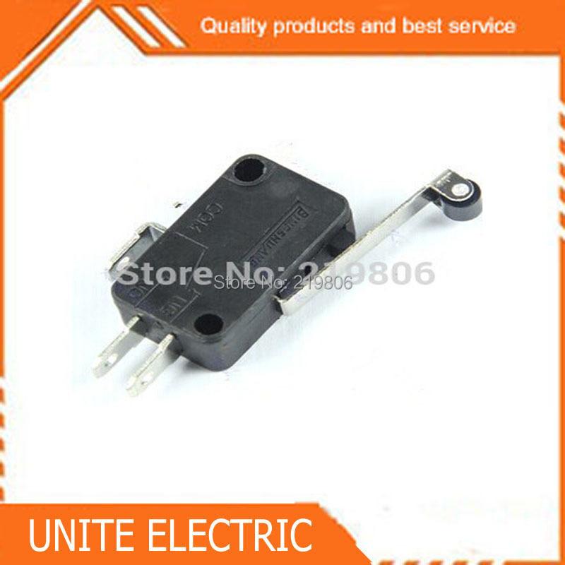Здесь можно купить  10pcs/lot New Micro Roller Long Handle Lever Arm Normally Open Close Limit Switch KW7-3   Электротехническое оборудование и материалы