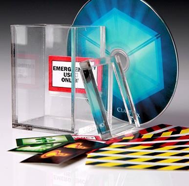ITgimmick The Clarity Box (Gimmick and ALL) - Card Trick,Magic Magic Tricks,Close up,illusion,mentaism(China (Mainland))