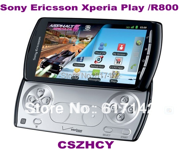 R800 Sony Ericsson Xperia Play Z1i original phone GPS Verizon Android OS 2.3 Smart Cell Phone Refurbished Phone(China (Mainland))
