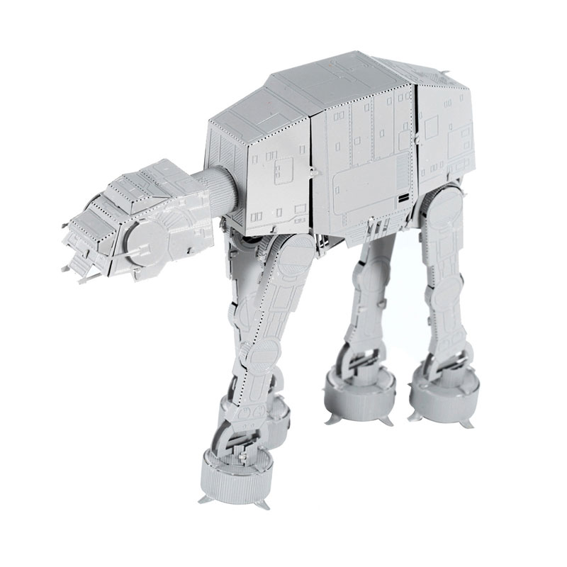 AT-AT Waller Building Model Kits Star Wars 3D Metal Puzzles Spray-painted White Model DIY Assembled Jigsaws Gifts Collection(China (Mainland))