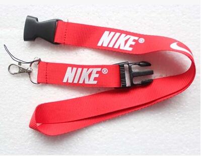 Free shipping New 10Pcs Popular red + white Logo Style mobile Phone lanyard Key chain Strap Charm Gift(China (Mainland))