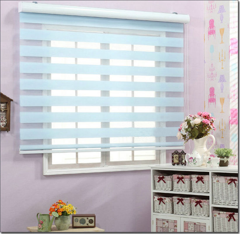 Rgxzr Shalian Roller Shutter Double Layer Shade Blinds