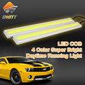 DRL cob daylight Super Bright 100 Waterproof car led fog light daytime running lights parking lamp