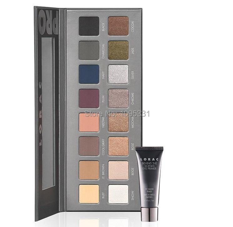 2014 New LORAC eyeshadow makeup Generation 2 lorac PRO palette 2 16 color eye shadow palette
