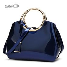 Buy 2017 High Patent Leather Women Bag Ladies Cross Body Messenger Shoulder Bags Handbags Women Famous Brands Bolsa Feminina for $21.44 in AliExpress store