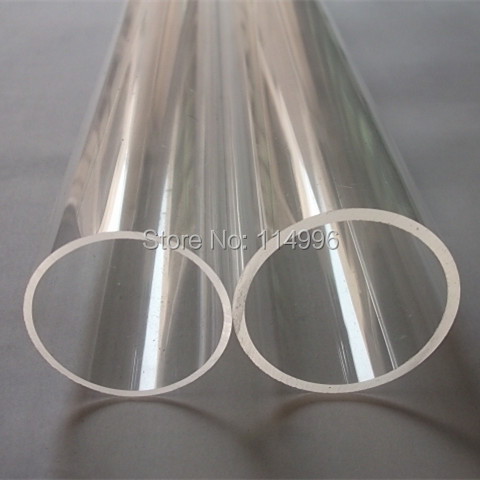 (120/114) OD120x3x1000mm Acrylic Clear Tube Home Decor Plexiglass Plastic Transparent Pipe Can Custom Any Diameter and Thickness<br><br>Aliexpress