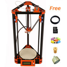 LCD display diy 3d printer with 40m Filament 8GB SD card LCD masking tape for Free