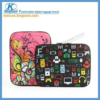 "Latest design!China famous Brand-Kingsons 10.6"" Neoprene water-proof Laptop Computer Notebook sleeve bag Free Shipping!! KS6065V"