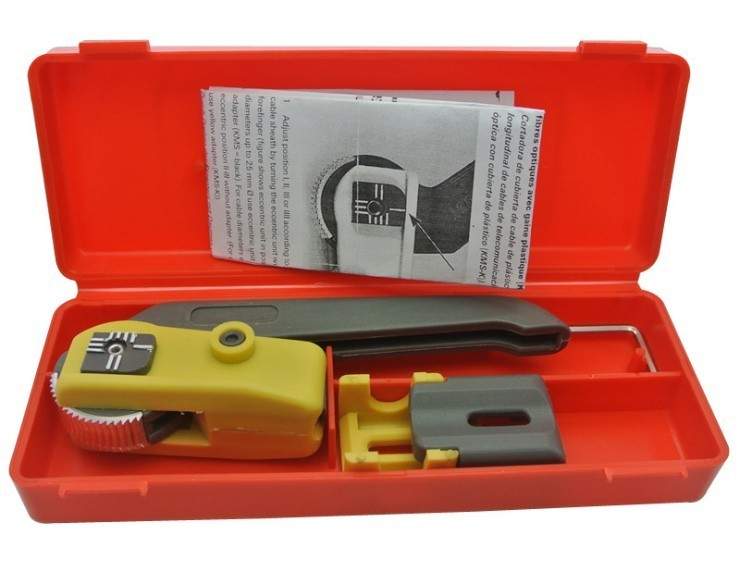 Buy Fiber optic cable stripping knife KMS-K longitudinal cable cutter, vertical cable stripper, cable cutting device Free shipping cheap