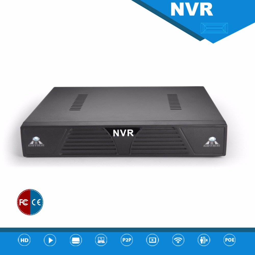 New HD 4Channel HDMI NVR 4CH 1080P/960P/720P 1U 1HDD Support onvif ip camera P2P cloud(China (Mainland))