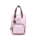 Lovely Preppy Style Backpack Women New Fashion Large Capacity Dual purpose Bag Ladies Concise Plaid Hand