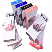 New kylie jenner lip kit lip gloss matte liquid lipsticks sets with matte lipgloss kylie jenner lime velvetines