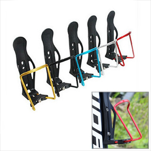 MTB Bicycle Bottle Holder Mountain Road Bike Alloy Holders Cages EDC Cycling Accessories Cycle Water Rack Cage Shelf 5COLOR - Moving Life store