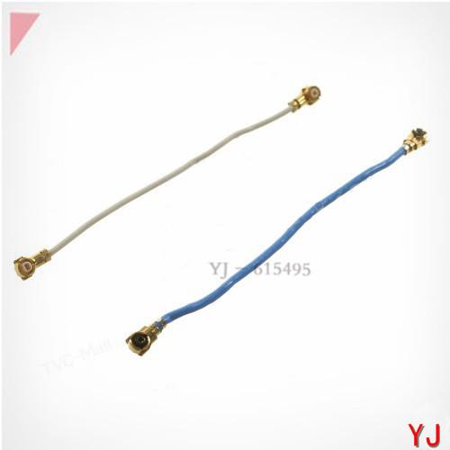 10 pcs/lot OEM A Pair White + Blue Antenna Signal Flex Spare Parts for Samsung Galaxy S5 G900(China (Mainland))