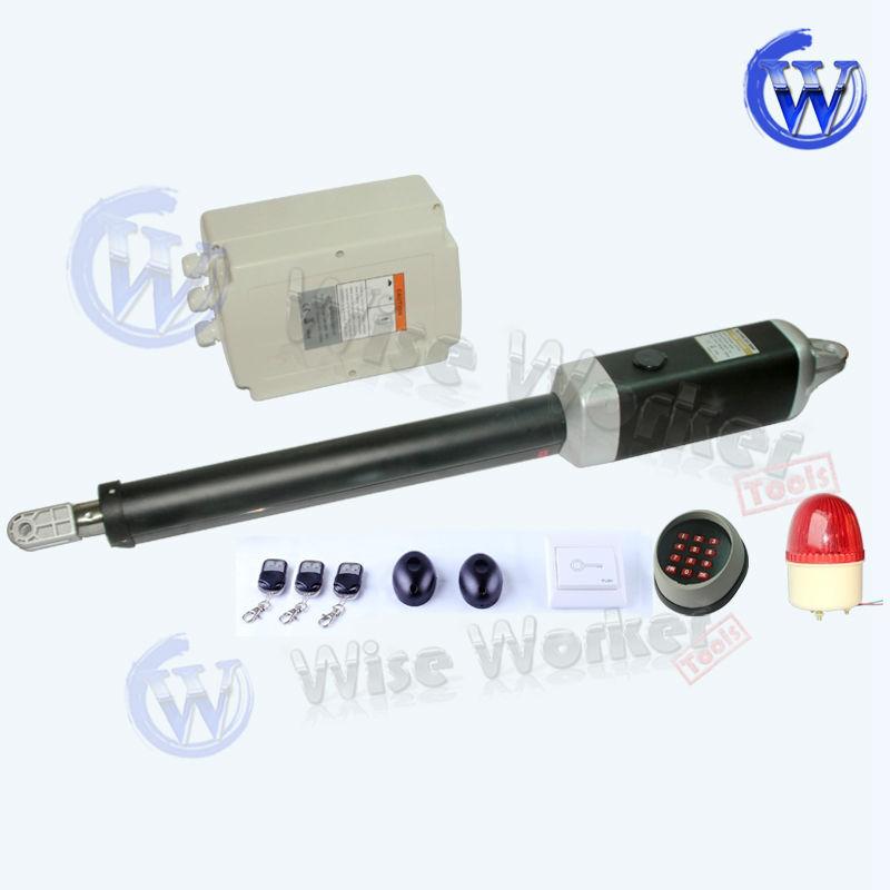 Wt m acc driveway automatic low voltage single swing