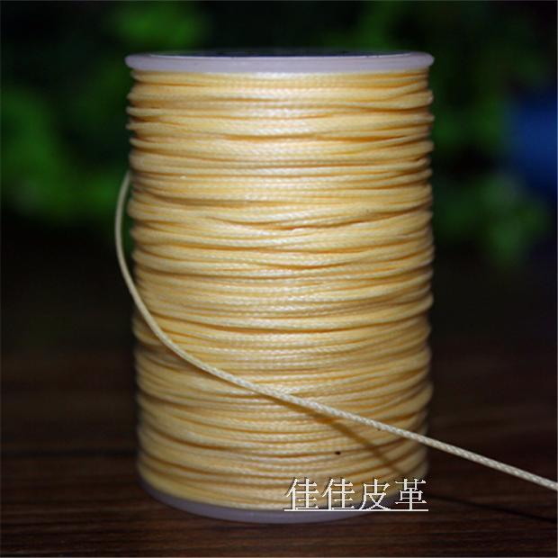 new hand stitched flat wax thread DIY 0.8mm small 150D polyester flat wax line sewing thread leather tool length 80m(China (Mainland))
