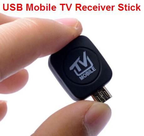 DHL Free Shipping 2015 Newest DVB-T ISDB-T USB TV Tuner Mobile TV Receiver Stick Android Pad Phone DVB T ISDB T(China (Mainland))