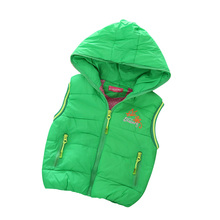 2016 Fashion Casual Boy Vests High Quality Children's Clothing Solid Kids Outerwear Waistcoat Vest Coats For Boys Clothes 12