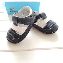 2016 Summer Style OMN Brand Genuine Leather Baby Shoes Indoor Toddler Shoes Infant Boys Prewalkers Shoes(China (Mainland))