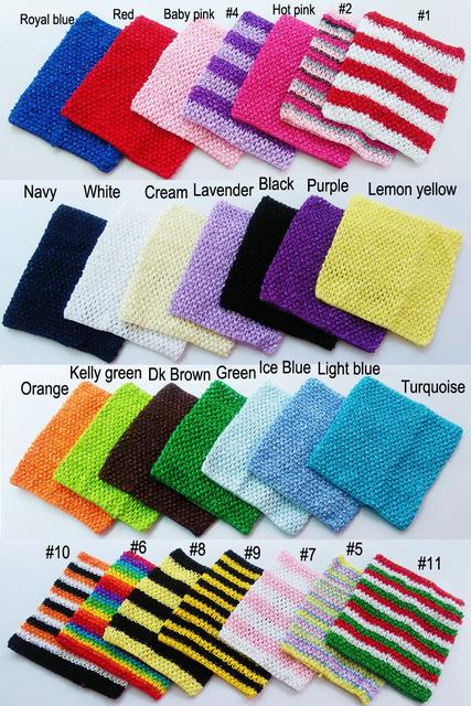 20x23cm 9inch Crochet tube top tutu top wide crochet headbands size 7.5x9inch tutu supplies 10pcs per lot