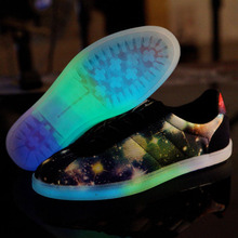Size 36-44 Led shoes for adults Women men fashion luminous Glowing Fluorescent shoes Casual Zapatos mujer Yeezy shoes for man(China (Mainland))